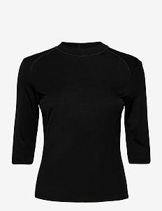 Margot Top - tops met lange mouwen - black