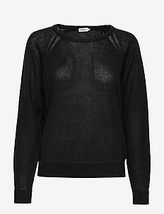 Natalie Sweater - neulepuserot - black