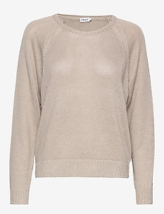 Natalie Sweater - trøjer - grey beige