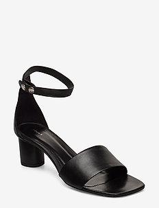 Sandy Sandal - højhælede sandaler - black