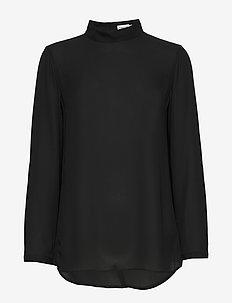Macy Top - bluzki z długimi rękawami - black