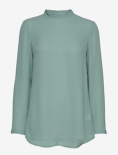 Macy Top - long sleeved blouses - mint powde