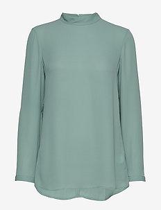 Macy Top - langærmede bluser - mint powde