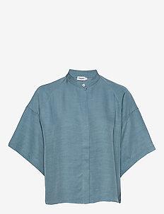 Tammy Shirt - kortærmede skjorter - blue heave