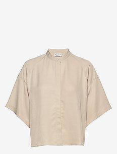 Tammy Shirt - overhemden met korte mouwen - ivory
