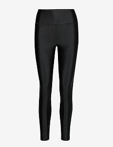 Cropped Gloss Legging - BLACK