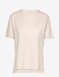 Rose T-Shirt - knitted tops & t-shirts - ivory
