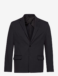 M. Harrison Cotton Blazer - single breasted blazers - navy