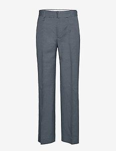 Hedwig Trouser - bukser med lige ben - blue grey