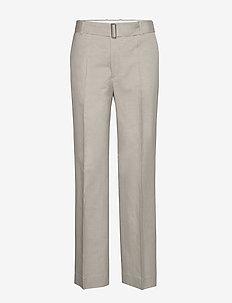 Hedwig Trouser - bukser med lige ben - light sage