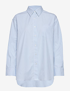 Sammy Shirt - long-sleeved shirts - pale blue/