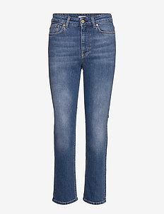 Stella Mid Blue Wash - straight jeans - mid blue