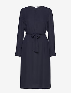 Milla Dress - robes midi - navy