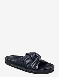 Brea Sandal - flat sandals - navy