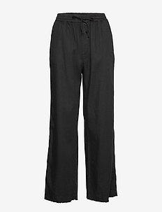 Hayley Trouser - broeken med straight ben - black