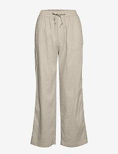 Hayley Trouser - broeken med straight ben - grey beige