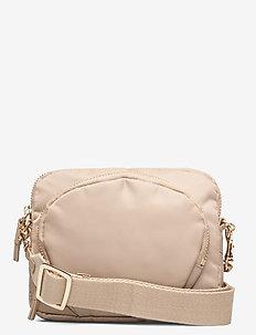 Mini Nylon Bag - schoudertassen - warm taupe