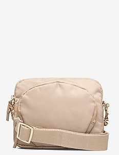 Mini Nylon Bag - skuldertasker - warm taupe