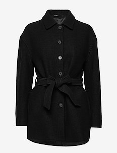 Lima Coat - uldfrakker - black