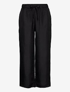 Nea Trouser - wide leg trousers - black