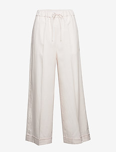 Aria Trouser - wide leg trousers - faded pink