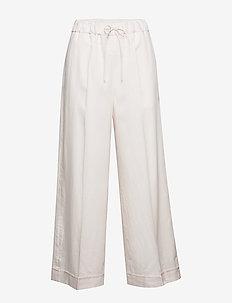 Aria Trouser - bukser med brede ben - faded pink