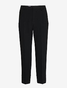 Regina Trouser - broeken med straight ben - black