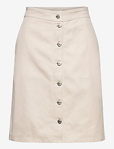 Piper Skirt - jupes midi - ivory