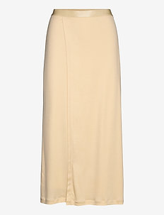 Viola Skirt - maxi nederdele - dune beige