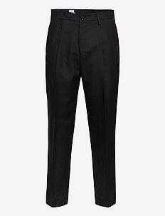 M. Samson Linen Trouser - formele broeken - black