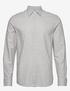 M. Lewis Linen Shirt - basic skjorter - sterling g