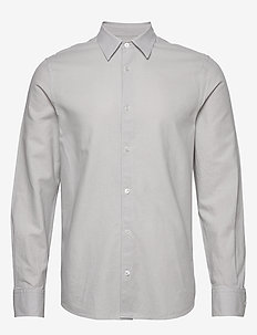 M. Lewis Linen Shirt - basic shirts - sterling g