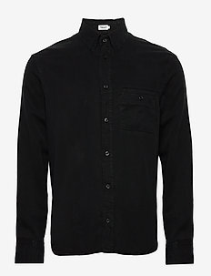 M. Zachary Tencel Shirt - basic skjorter - almost bla