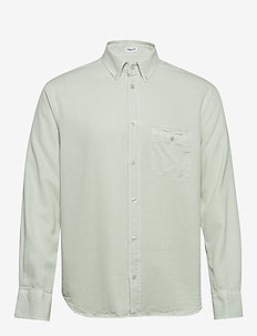 M. Zachary Tencel Shirt - basic overhemden - faded aqua