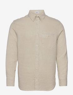 M. Zachary Tencel Shirt - casual-paidat - ivory