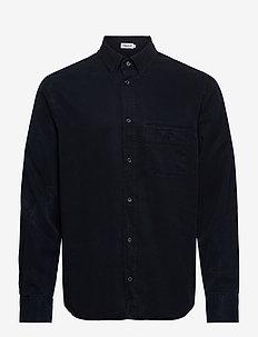 M. Zachary Tencel Shirt - basic skjorter - navy