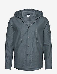 M. Kit Hooded Jacket - vindjakker - charcoal b