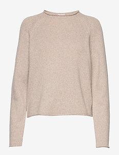 Dahlia Sweater - gensere - beige mela