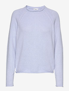 Dahlia Sweater - cashmere - ice blue
