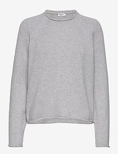 Dahlia Sweater - cashmere - light grey