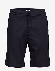 M. Toby Twill Short - tailored shorts - dark navy