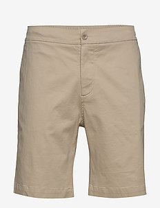 M. Toby Twill Short - tailored shorts - khaki