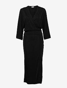 Rene Dress - slå-om-kjoler - black
