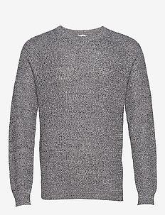 M. Sergio Sweater - basic gebreide truien - pale blue/