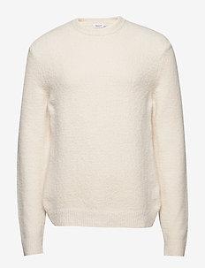 M. Matthew Sweater - basic gebreide truien - off-white