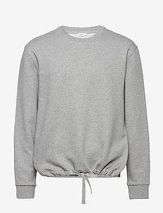 M. Felix Sweater - basic sweatshirts - grey melan