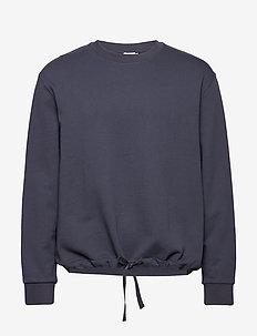 M. Felix Sweater - basic sweatshirts - ink blue