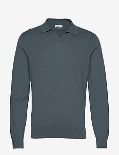 M. Lars Sweater - basic strik - charcoal b