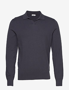 M. Lars Sweater - basic strik - ink blue