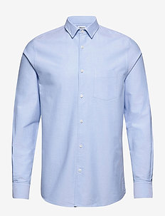 M. Tim Oxford Shirt - basic shirts - light blue